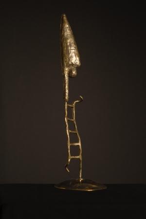 «Cirque» Équilibriste Bronze, laiton