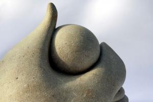 Le Baiser Pierre calcaire