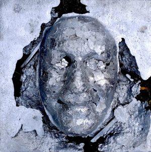 «Corps froissé» Face Aluminium, zinc